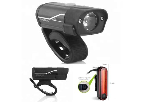 BC 400 Lumen Front Light and rear light set