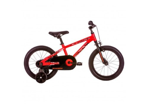 "Avanti Avanti Shadow 16"" Kids Bike Black Red"