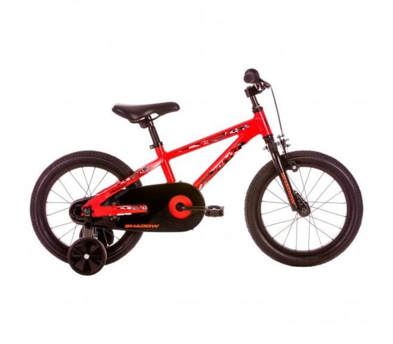 "Avanti Shadow 16"" Kids Bike Black Red"
