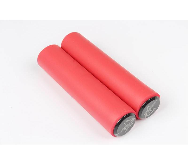 Meroca Silicone Gel Grips Red