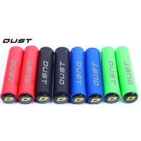 Dust Non Slip Silica MTB Grip Red