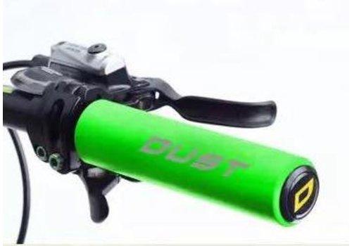 Dust Dust Non Slip Silica MTB Grip Green