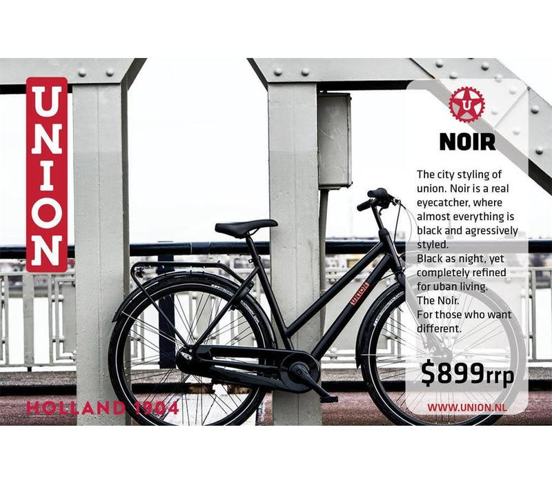 Union Noir Womens Bike Black