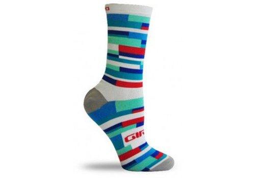 Giro Giro Comp Race High Rise Labrinth White/Blue
