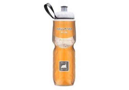 Polar Insulated Water Bottle 700ml/24 oz, Standard Valve, GOLD