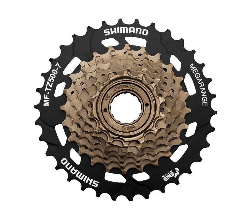 Shimano Mf-Tz500 7-Speed 14-28 Multi Freewheel