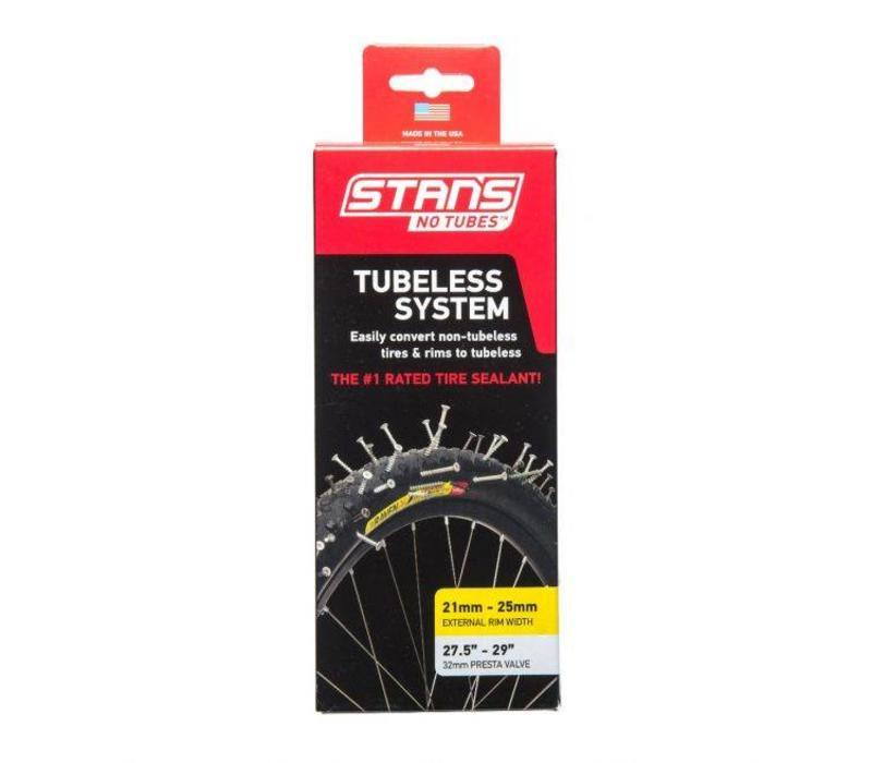 Stans NoTubes Tubeless Kit - Yellow 27.5/29er - Cross Country 29er