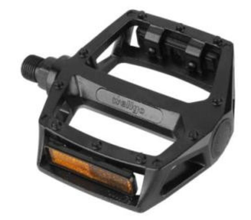 "Wellgo BMX Mountain Alloy Pedals 9/16"" Axle Black"
