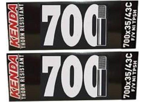 Kenda KENDA BIKE TUBE 700X35/43 THORN RESISTANT SCHRADER VALVE AV