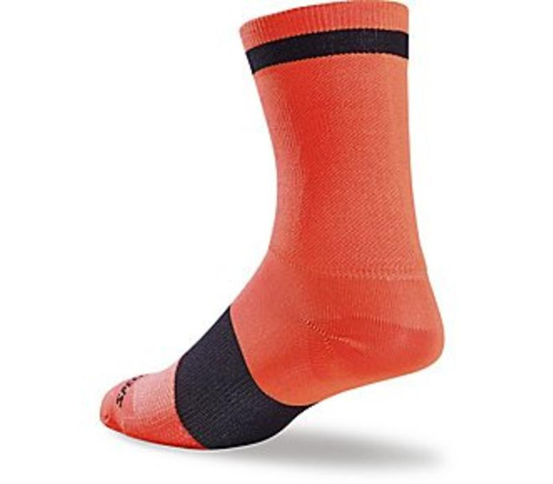 Specialized RBX Tall Sock Neon Orange