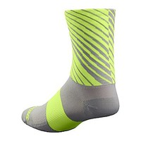 Specialized RBX Tall Sock Grey/Neon Yellow