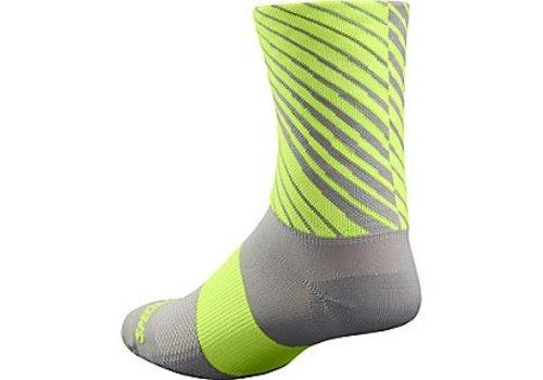 Specialized Specialized RBX Tall Sock Grey/Neon Yellow