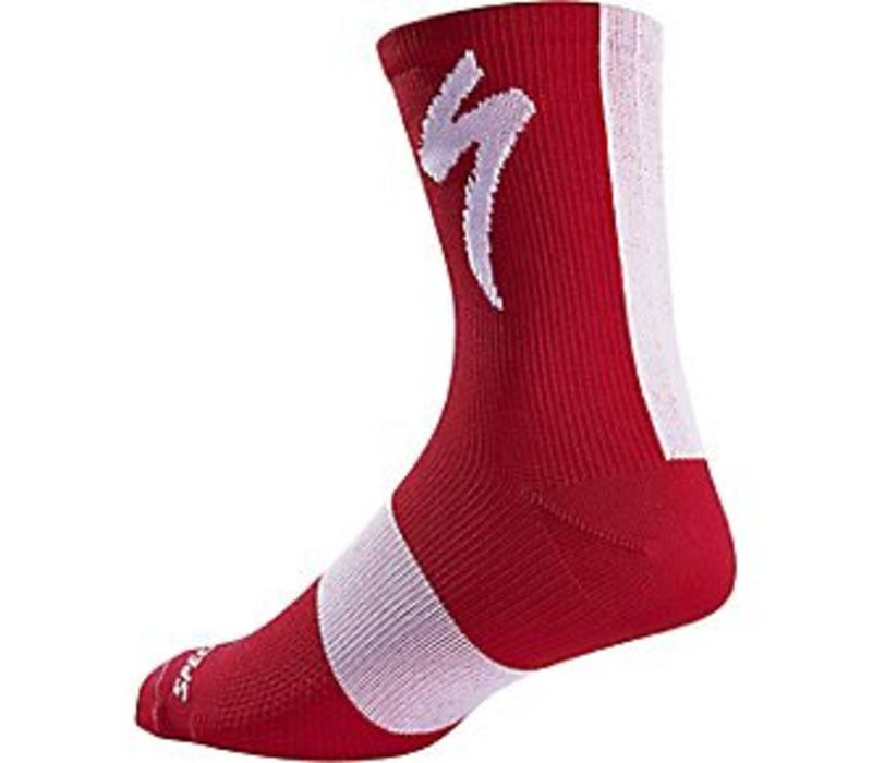 Specialized SL Tall Sock Red