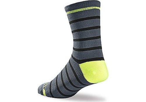 Specialized Specialized SL Tall Sock Grey/Neon Yellow