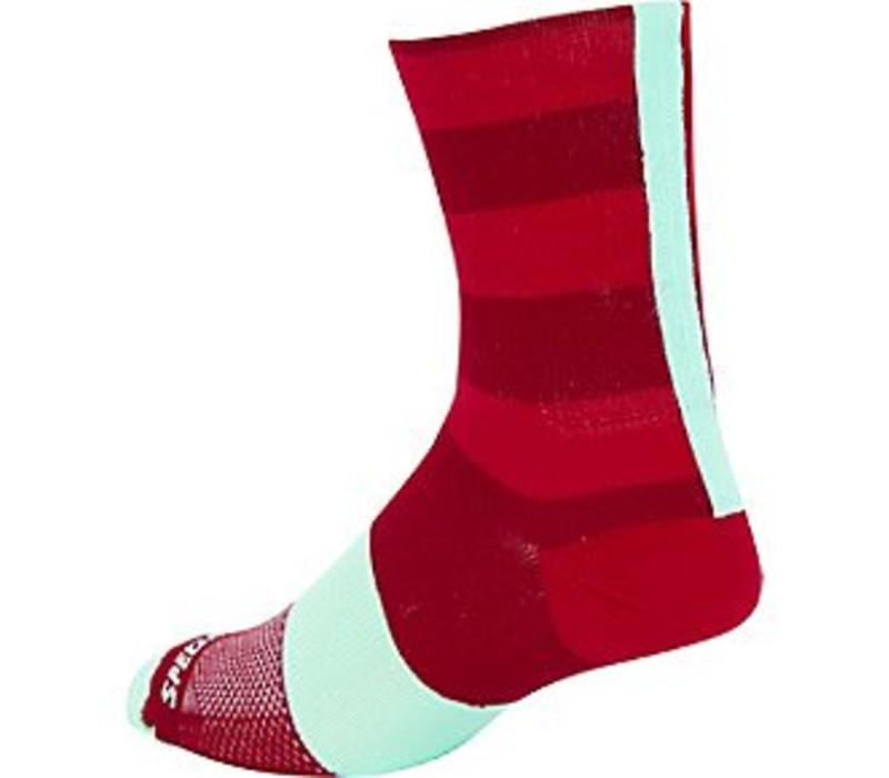 Specialized SL Tall Sock Red/Candy Red