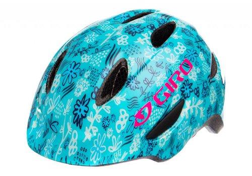 Giro Giro Scamp Bike Helmet Blue Floral