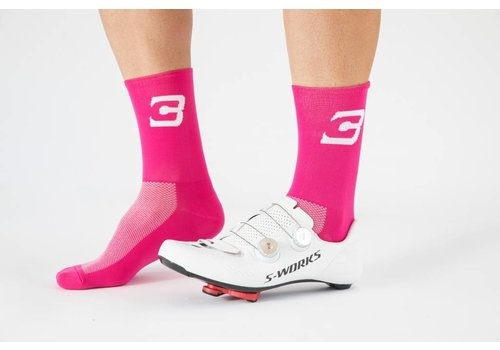 Blue Cycles Sock Pink Fits Size 40-47