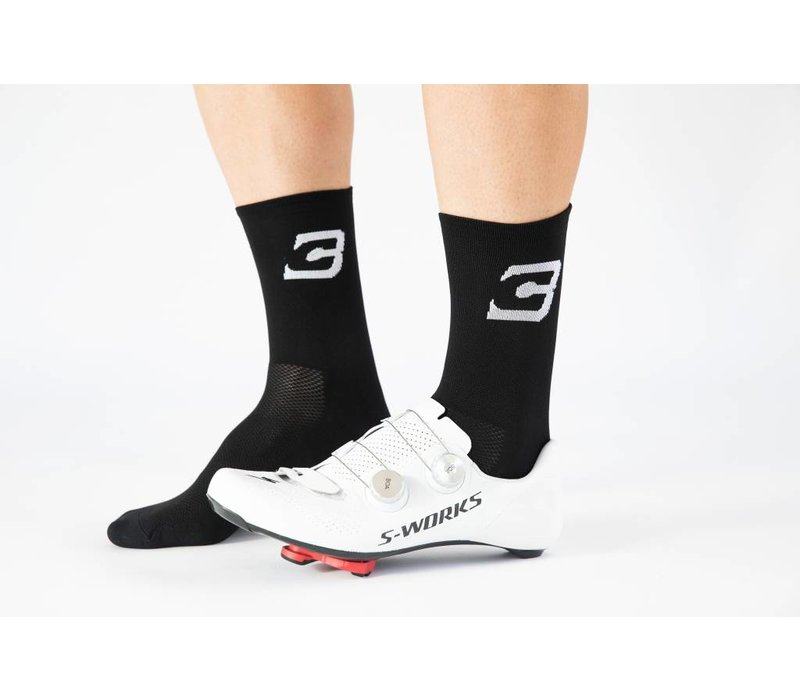 Blue Cycles Sock Black Fits Size 40-47