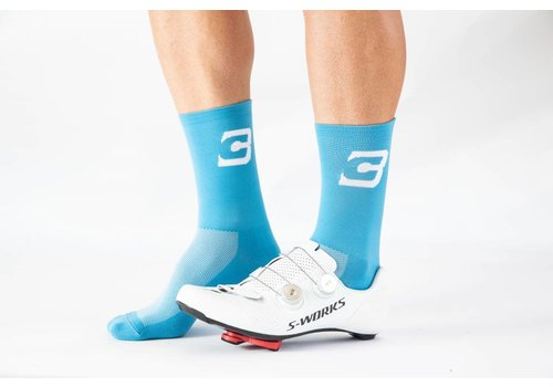 Revolution Clothing Blue Cycles Sock Blue Fits Size 40-47