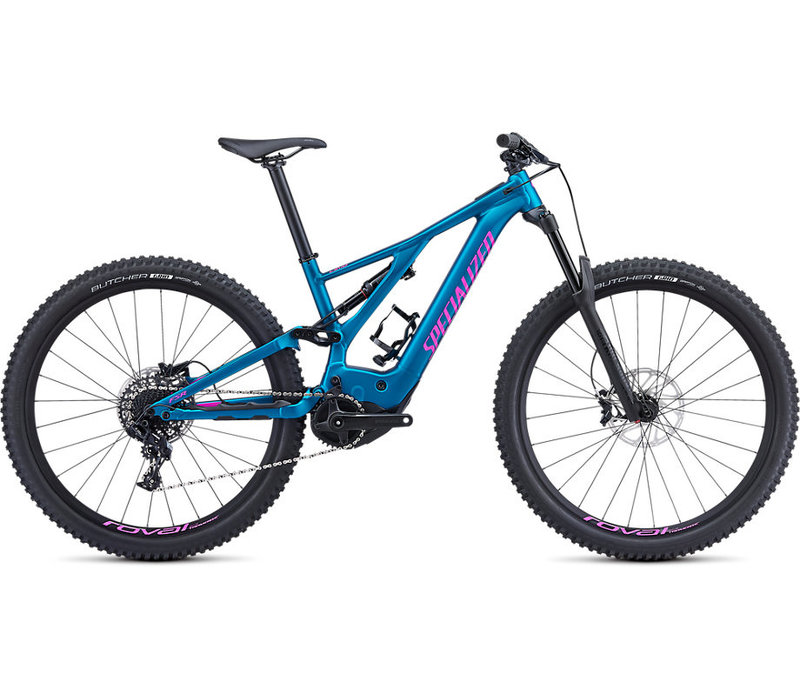 2019 Women's Turbo Levo 29 Marine Blue/Acid Fuchsia Medium
