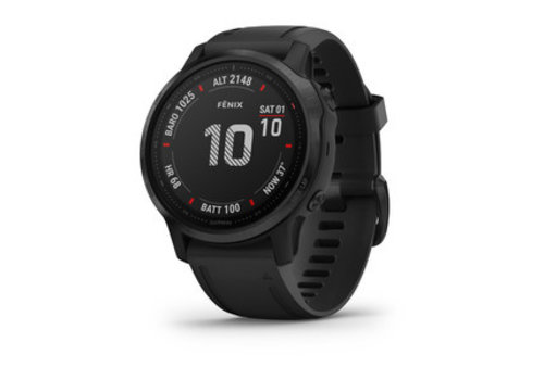 Garmin Garmin Fēnix® 6S Pro, Black with Black Band