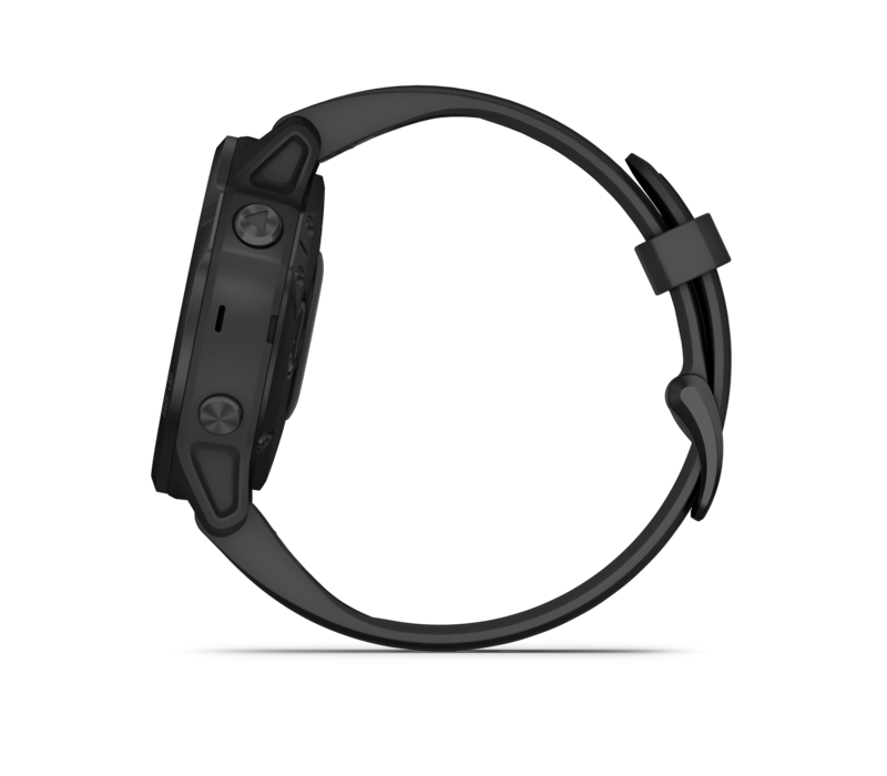 Garmin Fēnix® 6S Pro, Black with Black Band