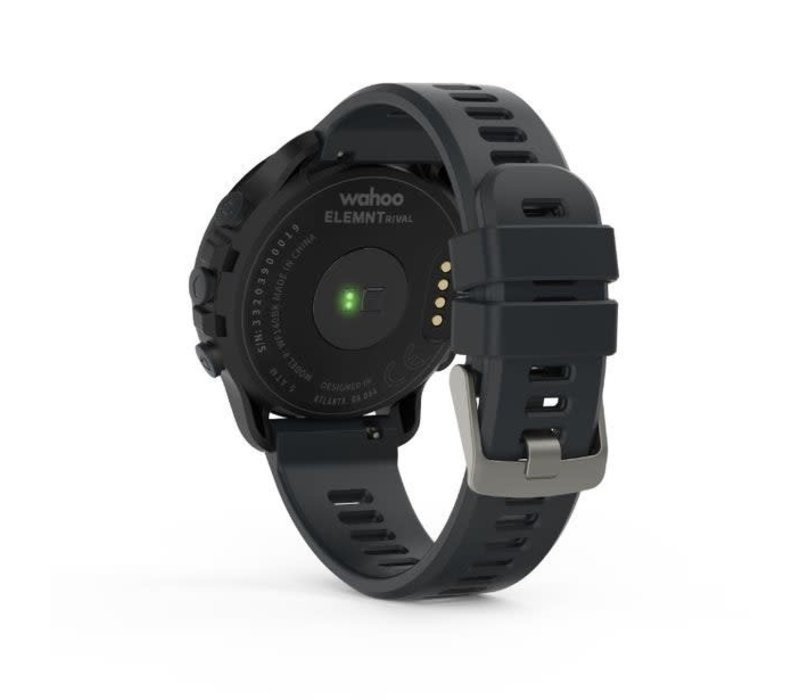 Wahoo ELEMNT RIVAL MULTISPORT GPS WATCH - Stealth Grey