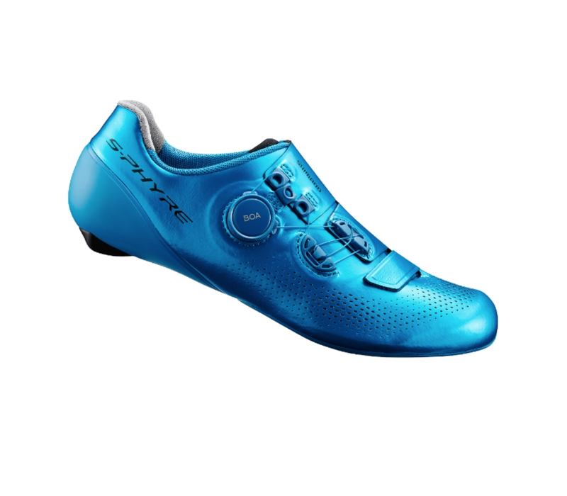 SHIMANO S-PHYRE SH-RC901T TRACK RACING SHOES  43 BLUE