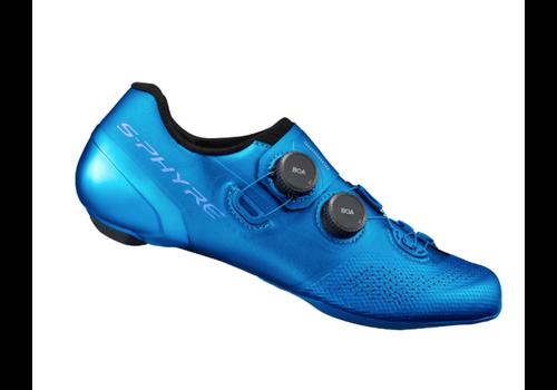 Shimano Shimano Sh-RC902 Road Shoes 45 E-Width  Blue