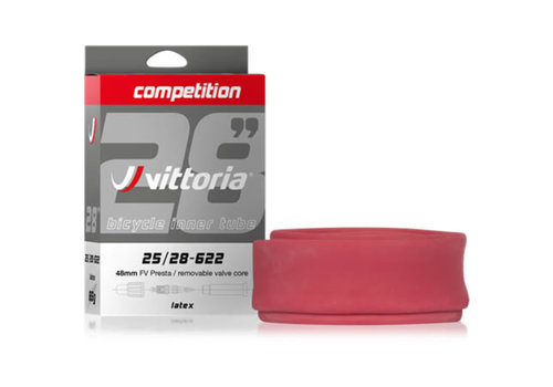 Competition Latex Inner Tubes 700 x 25-28c Presta 48mm
