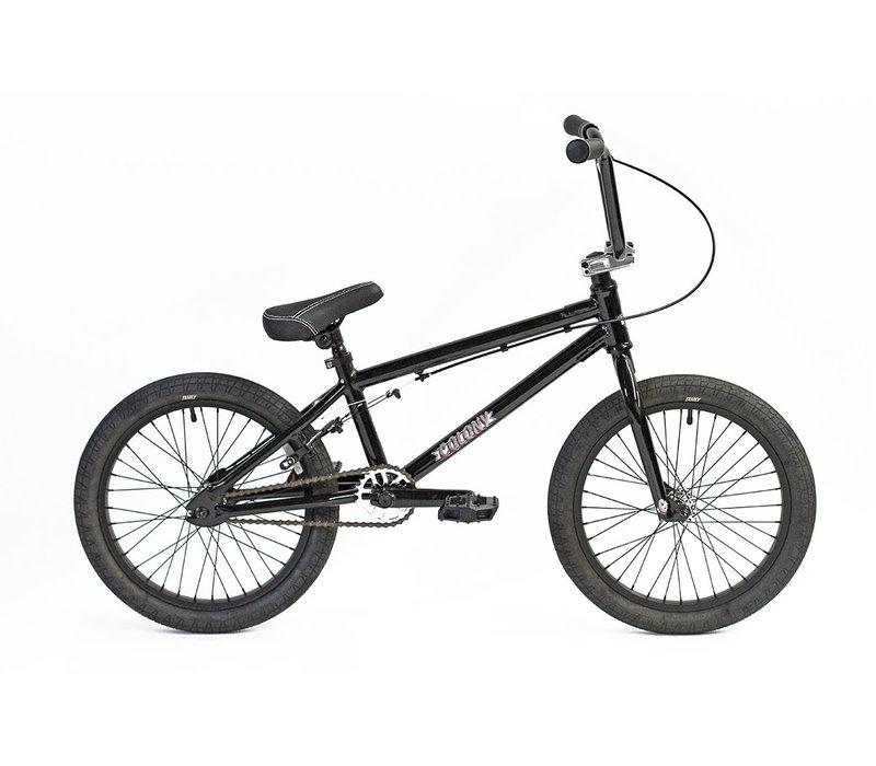 "Horizon 18"" Micro Freestyle BMX Bike Gloss Black / Polished"
