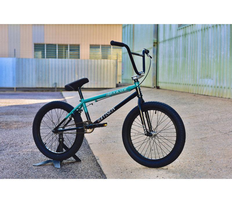 "Brookside 20"" BMX Bike Black/Teal Fade"
