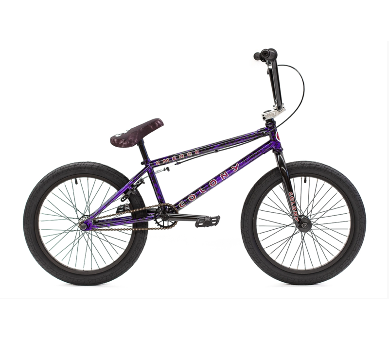 Emerge Purple Storm BMX Complete Bike