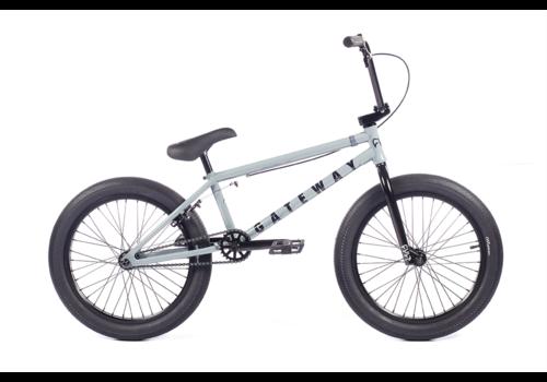 "Cult Gateway 20""  Flat Grey BMX Complete Bike"