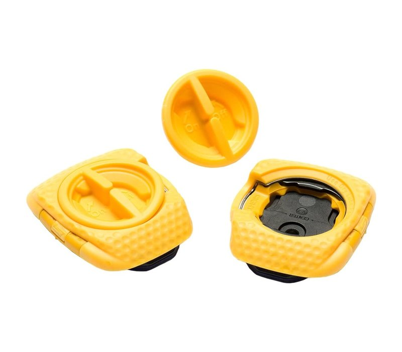 Speedplay Zero Aero Walkable Cleat Set - Yellow