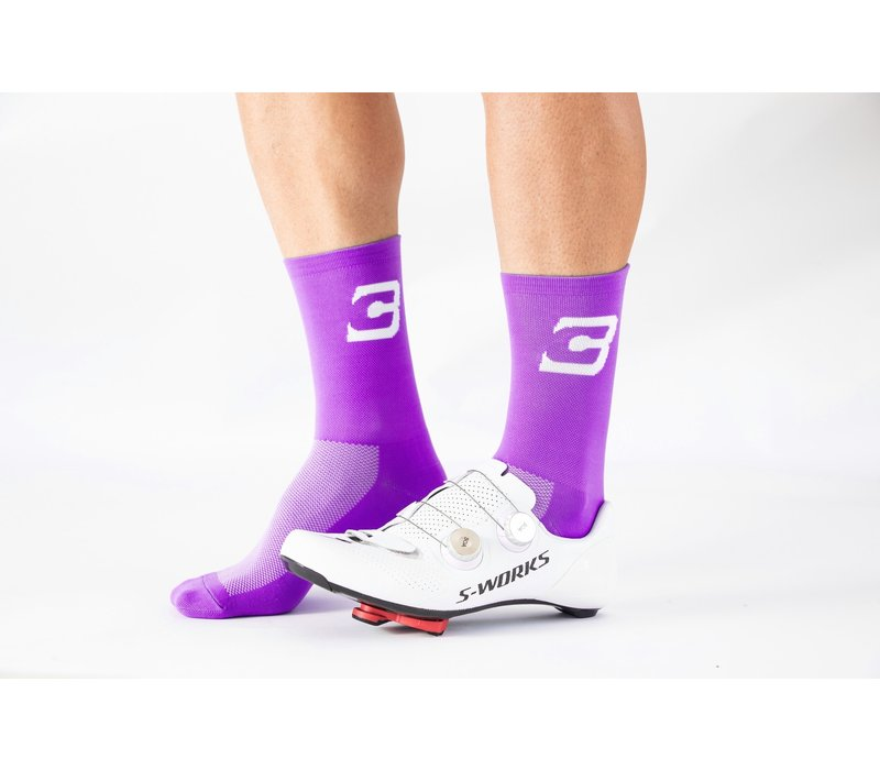 Blue Cycles Sock Fits Size 40-47