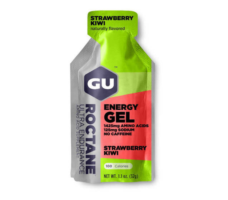 GU Roctane Energy Gel, Strawberry Kiwi single