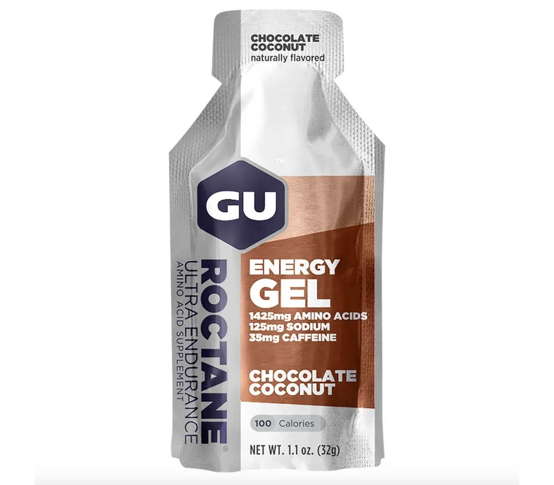 GU Roctane Energy Gel, Chocolate Coconut single