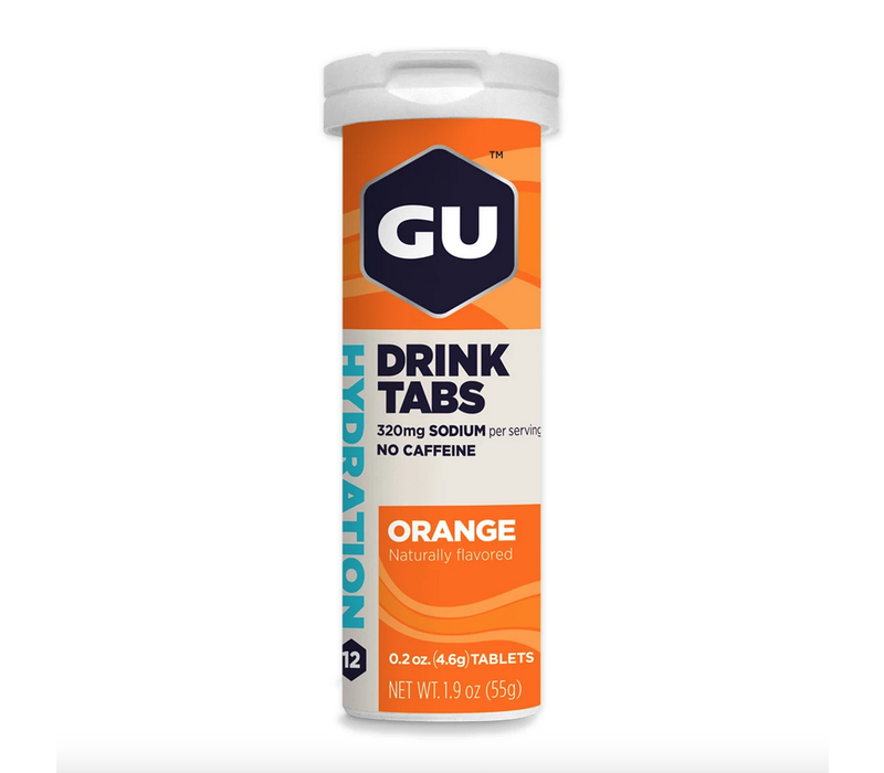 GU Hydration Drink Tablets, Orange single