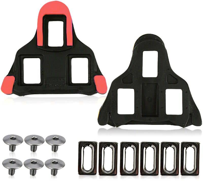 Shimano SM-SH10 Cleats Set Red Fixed Y42U98020
