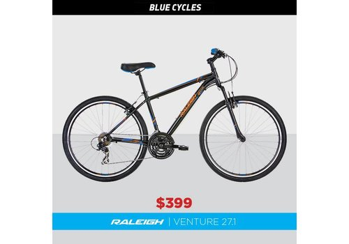 Raleigh Raleigh Venture 27.1 Mountain Bike Black/Blue