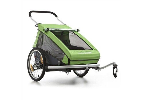 Croozer Croozer Trailer/ Jogger/ Pram for 2 Kids Green