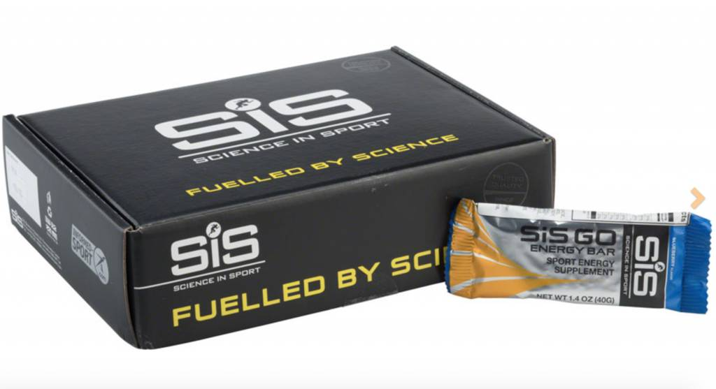 SIS Science in Sport Nutrition SiS GO Energy Bar: Blueberry, 40g, Box of 20