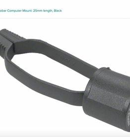 Profile Design Profile Design Universal Aerobar Computer Mount: 25mm length, Black