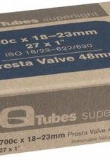 Q-Tubes Q-Tubes Superlight 700c x 18-23mm 48mm Presta Valve Tube