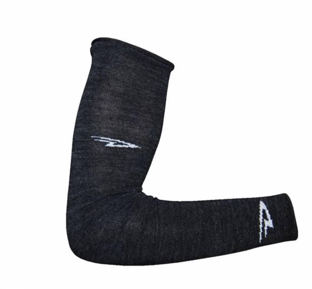 DeFeet International DeFeet Armskin D-Logo Charcoal Wool