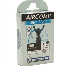 Michelin Michelin AirComp Ultra Light Tube, 700x18-23mm Presta Valve
