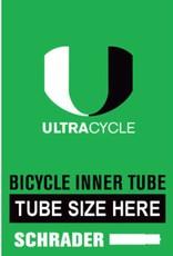 ULTRACYCLE UC 24X1.5-1.75 TUBE, Shrader Valve, inner tube
