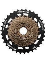 Shimano SHIMANO MULTIPLE FREEWHEEL SPROCKET, MF-TZ500-7,7-SPEED, 14-16-18-20-22-24-34T