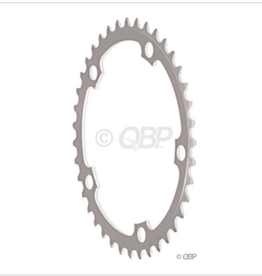 Sugino Sugino 46t x 130mm 5-Bolt Chainring, Anodized Silver